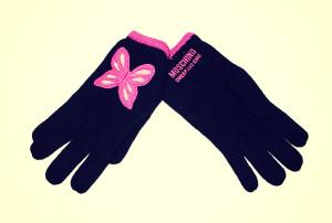guanti moschino con farfalla 19
