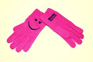 guanti moschino faccina 21