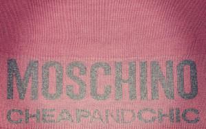 sciarpa rosa moschino dett. 29